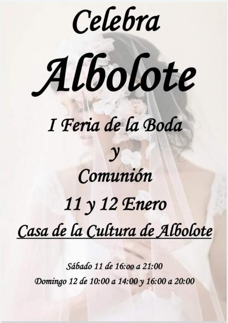 Cartel de la I Feria Celebra Albolote