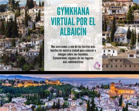 Cartel de la Gymkana por el barrio del Albaicín de la capital